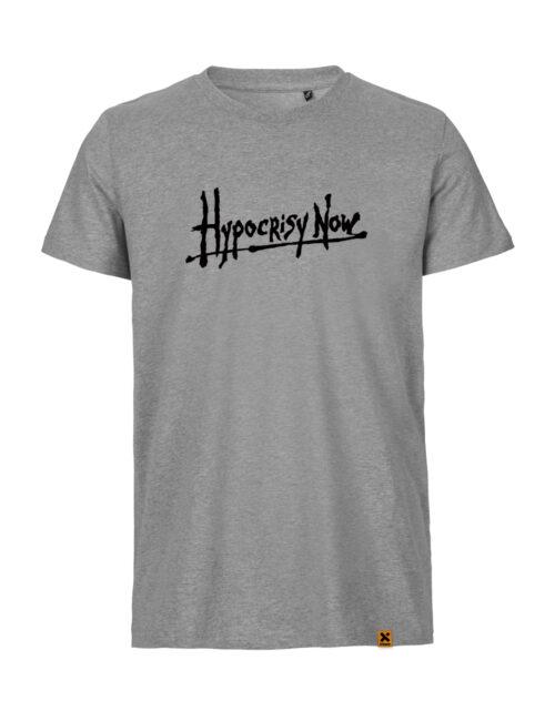 Hypocrisy Now T-shirt grey melange